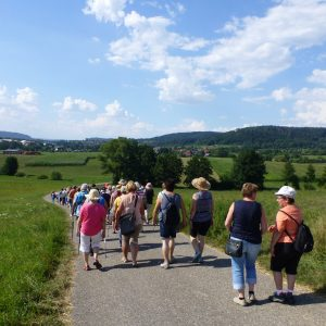 Kreiswandertag in Unterrot 2018